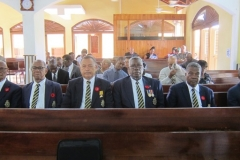 Members of the JDF-Ex Soldiers