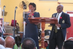 Funeral Service of Late Ex-JDF Clinton Randall