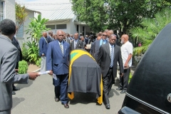 Frank Brown Ex-JDF Funeral service Feb, 2013