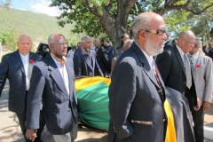 Frank Brown Ex-JDF Pallbearers Feb, 2013