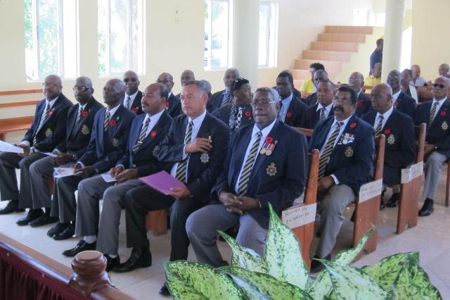 Gilbert Wiggan Ex-JDF Funeral Service- Final Respect 2015