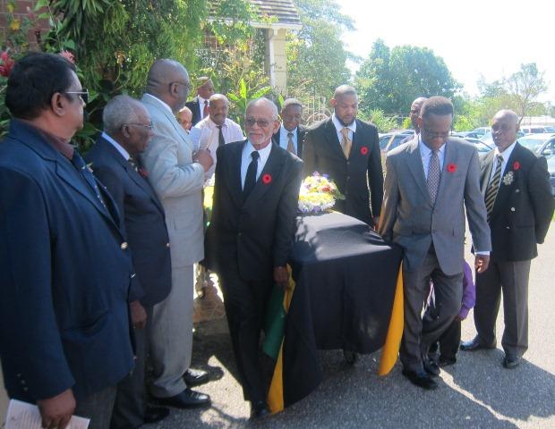Lloyd Davis Ex-RAFA Funeral Service Jan, 2015