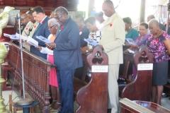 Remembrance Day Service 2018 St. James Parish  Church, Montego Bay