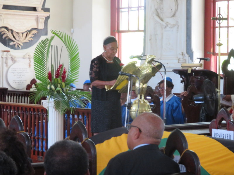 Mrs. Norma Charlton remembering her late husband